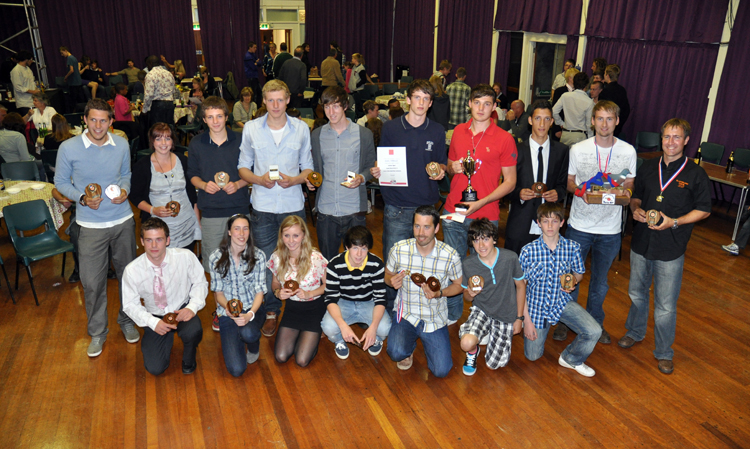 Tigers Award Winners 2011