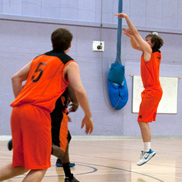 Alastair Bird and Joe Saunders — Taunton Tigers Men vs Chichester Thunder 16.01.11