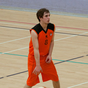 George Scarborough — Taunton Tigers Men vs Chichester Thunder 16.01.11