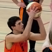 Tad Gray — Taunton Tigers Men vs Chichester Thunder 16.01.11