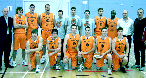 Taunton Tigers Mens Division 3 Team 2005/06