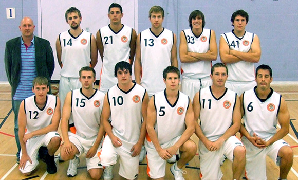 Taunton Tigers Mens Division 1 Team 2007/08