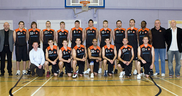 Taunton Tigers Mens Division 1 Team 2008/09