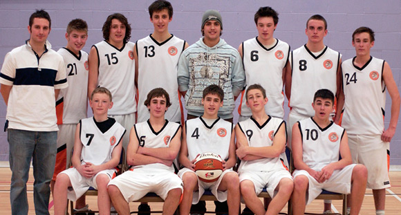Taunton Tigers U16 Men National League South West Conference Team 2006/07