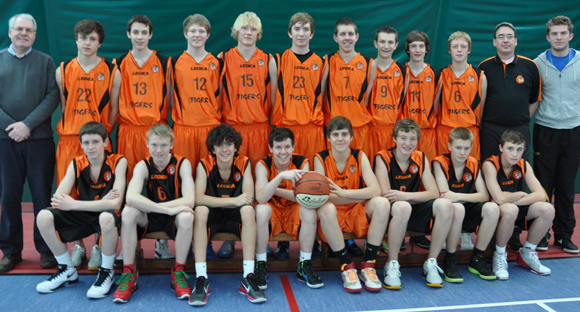Taunton Tigers U16 Men National League South West Conference Team 2011/11