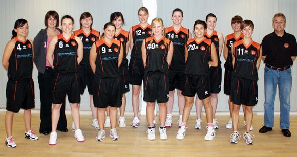 Taunton Tigers Women England Basketball National League Division 2 Team 2009/10